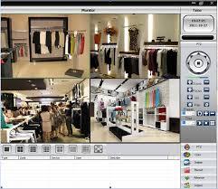 Sơ đồ lắp đặt camera giá rẻ theo dõi từ xa cho cửa hàng.